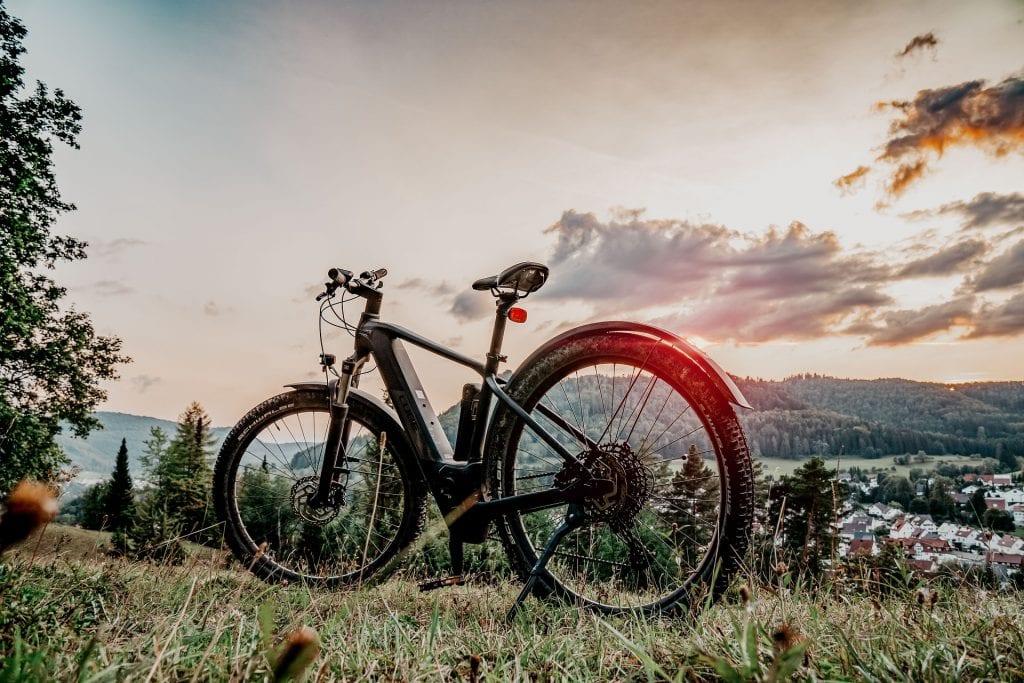 E-bikes met accu's in nieuwe 2021 fietscollecties